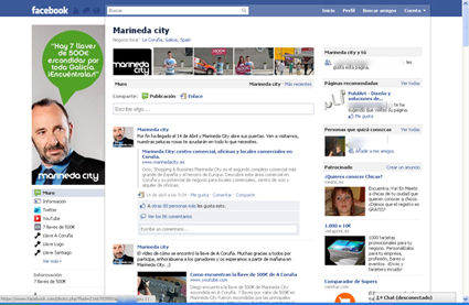 facebook marineda city