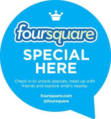foursquare oferta especial