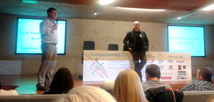Compostweets, evento de social media o mercadeo social
