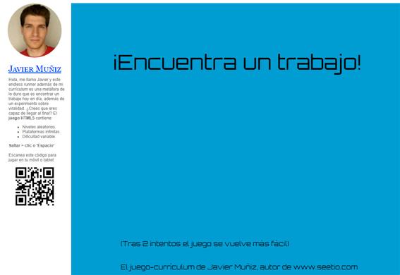 Javier-Muñiz-juego-curriculum-vitae-interactivo