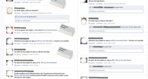 La TVG borra comentarios críticos en su Facebook tras la dimisión del presentador Alfonso Hermida