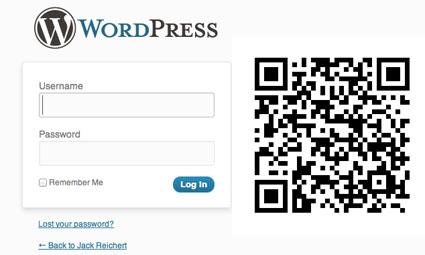 No more pasword codigo qr