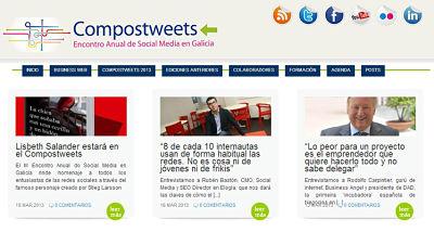 Compostweets, socialmedia desde Galicia este viernes