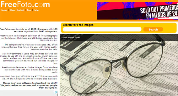 freefoto banco imágenes gratis