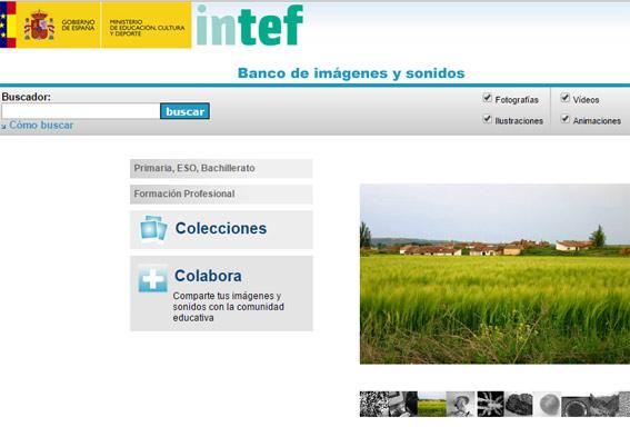 intef banco imágenes gratis
