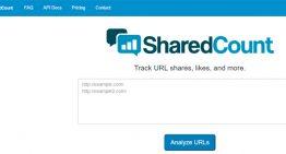 SharedCount muestra cuántas veces se comparte un artículo en las redes sociales
