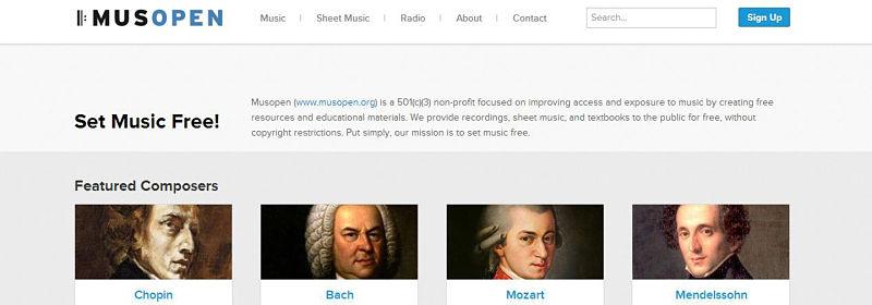 musopen musica gratis