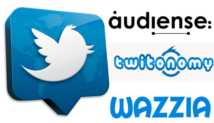 3 grandes herramientas para analizar una cuenta de Twitter: audiense, twitonomy y wazzia