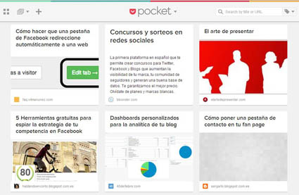 pocket web
