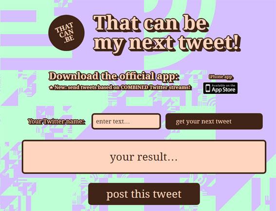 That-can-be-my-next-tweet-este-puede-ser-mi-proximo-twit-twitter-aplicaciones-curiosas-extrañas