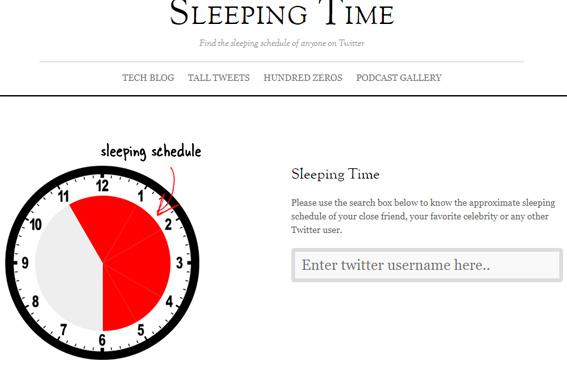 sleeping-time-twitter aplicaciones-curiosas-extrañas
