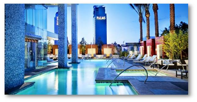Palms Casino Resort Las Vegas klout