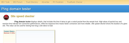 Site Speed Checker velocidad de carga