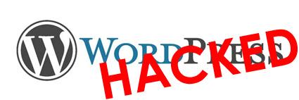 WordPress hacked by hacker