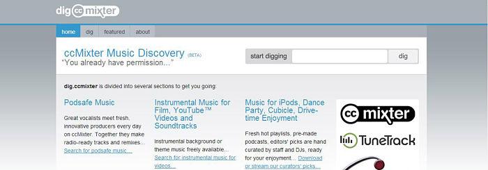 dig.ccmixter.org musica gratis