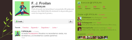 froilan twitter