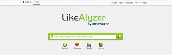 likealyzer facebook