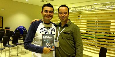 Con Pablo Herreros ebe