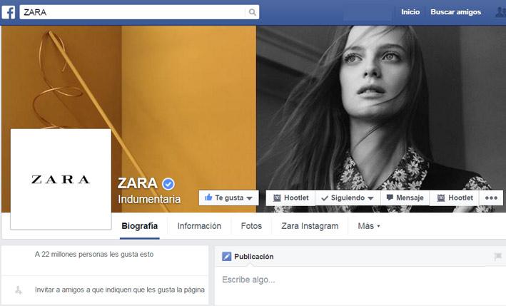 zara-facebook