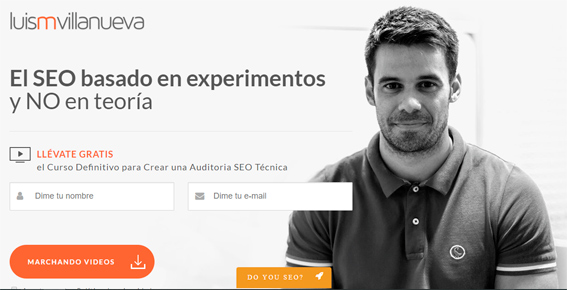 landing page luis-villanueva-video