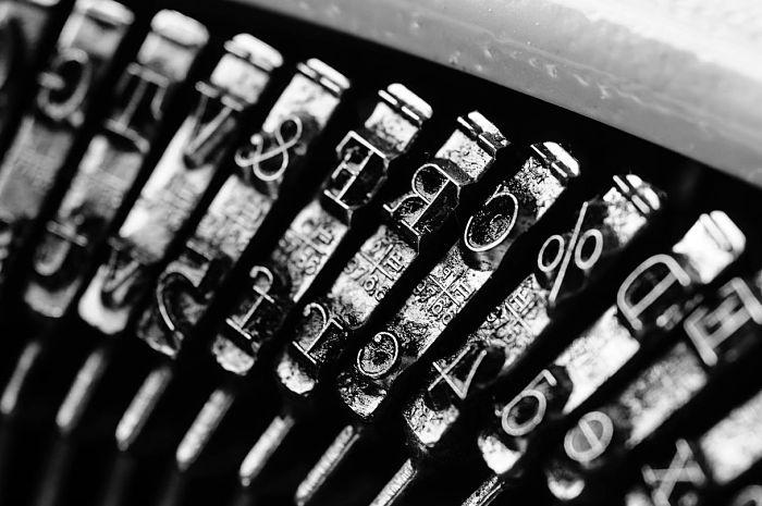 miedo escribir maquina
