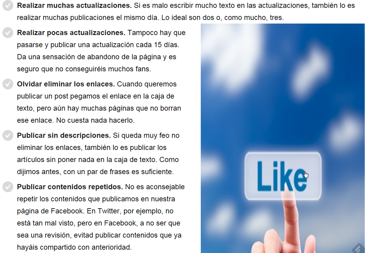 pagina facebook errores 4