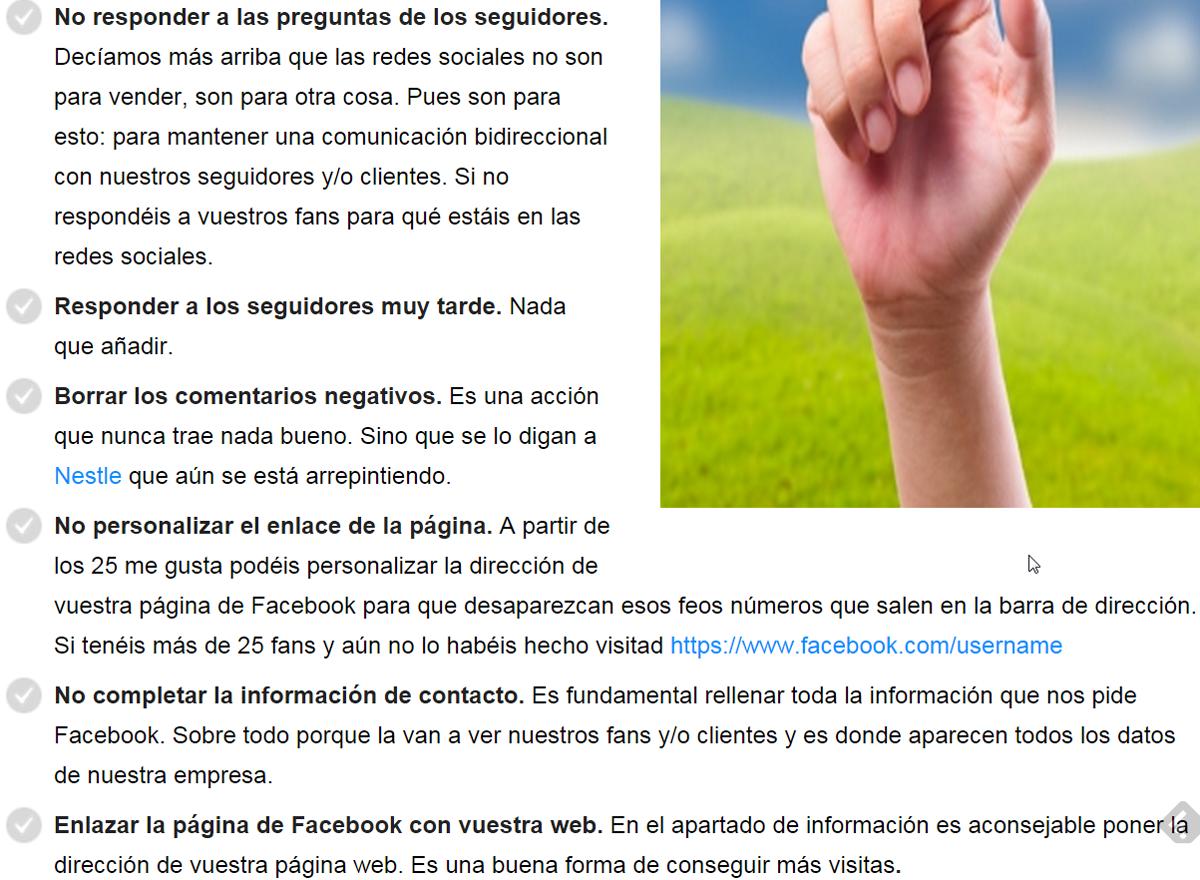 pagina facebook errores 5