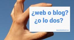 Pagina web o blog, ¿cómo diferenciarlos y cuál usar?