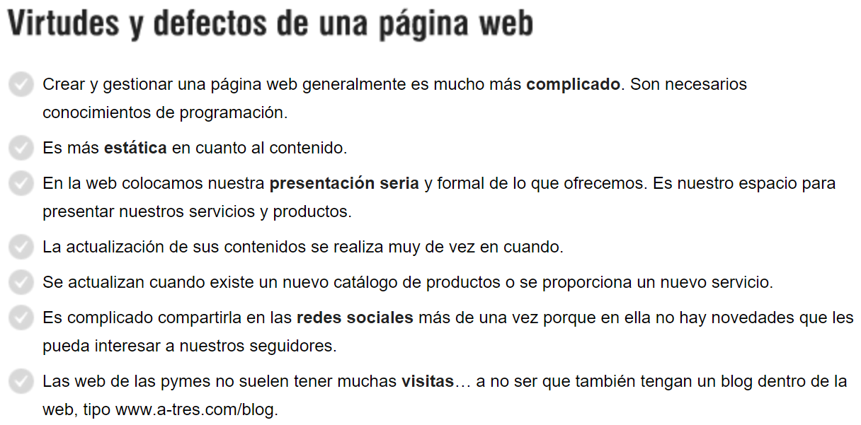 pagina web blog diferiencias 3