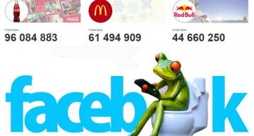 Las 10 marcas con más fans en Facebook suman 480 millones de seguidores