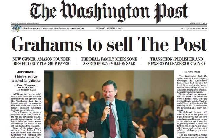 8 razones por las que The Washington Post lidera el periodismo digital