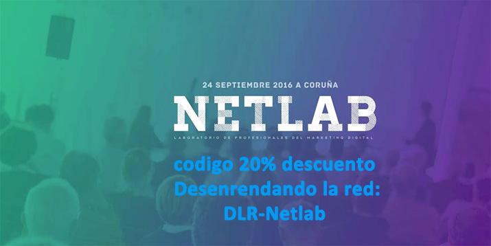 20% de descuento para el #NetLab Coruña del 24-S con Desenredando la red