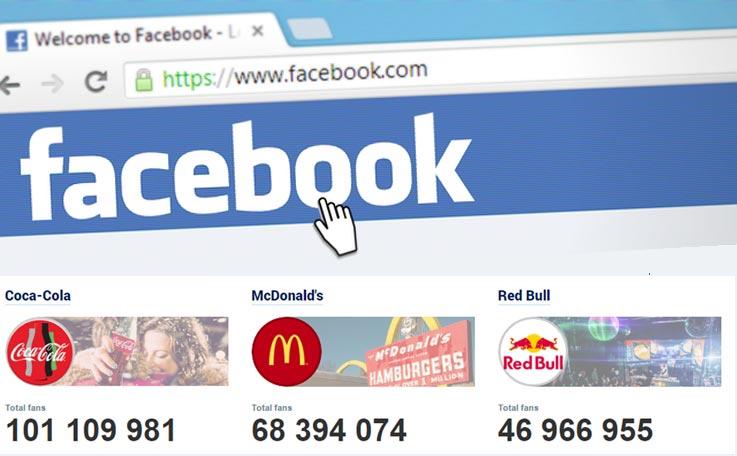 Coca-Cola, primera marca en llegar a los 100 millones de fans en Facebook