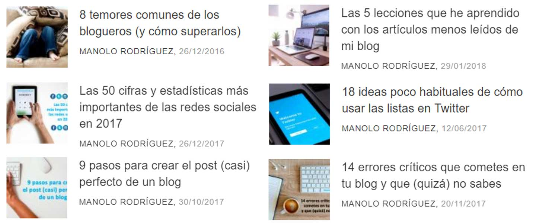 titulares numero articulo blog