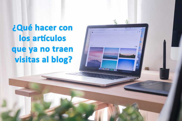 blog borrar articulos