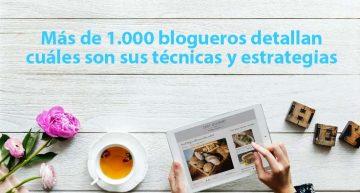 Más de 1.000 blogueros describen cuáles son sus técnicas y estrategias (informe)