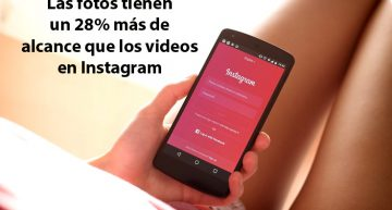 Las fotos en Instagram tienen un 28% más de alcance que los videos (análisis 2019)