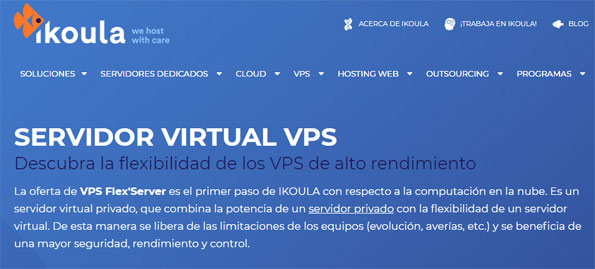 servidor privado virtual vps windows ikoula