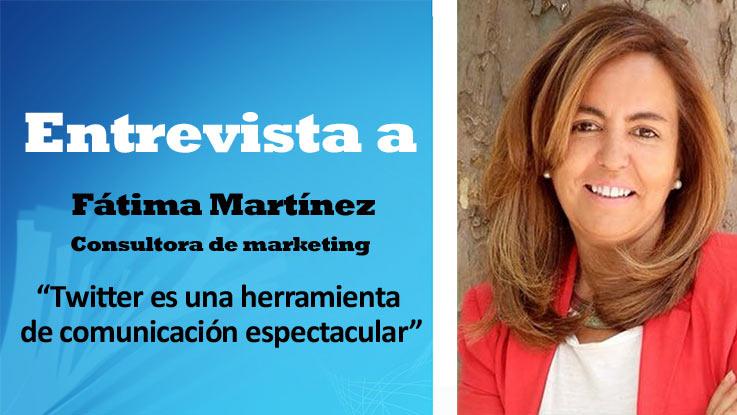 """Fátima Martínez: """"Twitter es una herramienta de comunicación espectacular"""""""