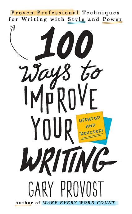 100 maneras de mejorar la escritura gary-provost libros para escribir mejor