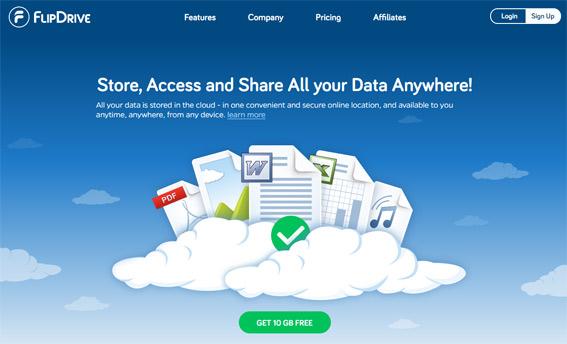 FlipDrive--almacenamiento-en-la-nube-gratis