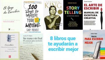 8 grandes libros que te ayudarán a escribir mejor