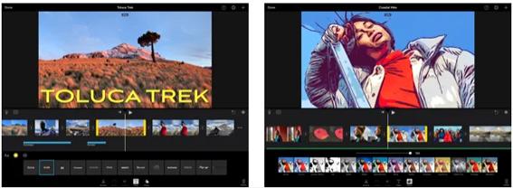 iMovie editor de video para movil gratis sin marca de agua