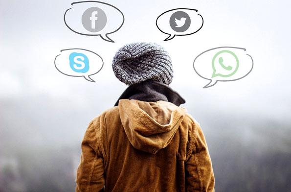 llegar primero redes sociales